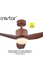 "Crestar Value Air 40"" Walnut"