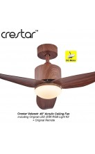 "Crestar Value Air 46"" Walnut"