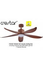 "Crestar Value Air 55"" Walnut"