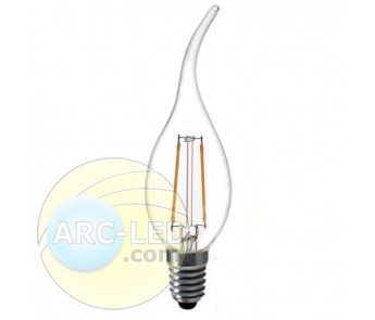 LED Filament Bulb E14 2W Type: CA