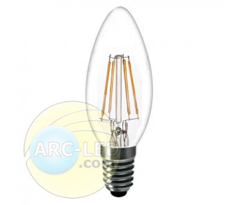 LED Filament Bulb E14 4W Type:C10