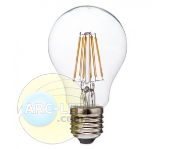 LED Filament Bulb E27 6W Type: A17