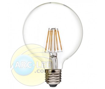 LED Filament Bulb E27 6W Type: G95