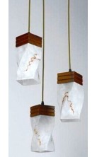 Pendant Light Wooden 6740-3P