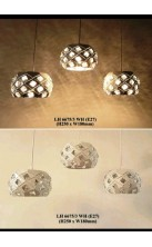 Pendant Light LH6675-3 WH