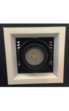 Recessed 1 X MR16 Spotlight Fixture