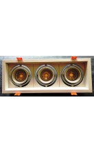 Recessed 3 X MR16 Spotlight Fixture